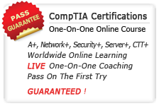 CompTIA One-On-One Online Course